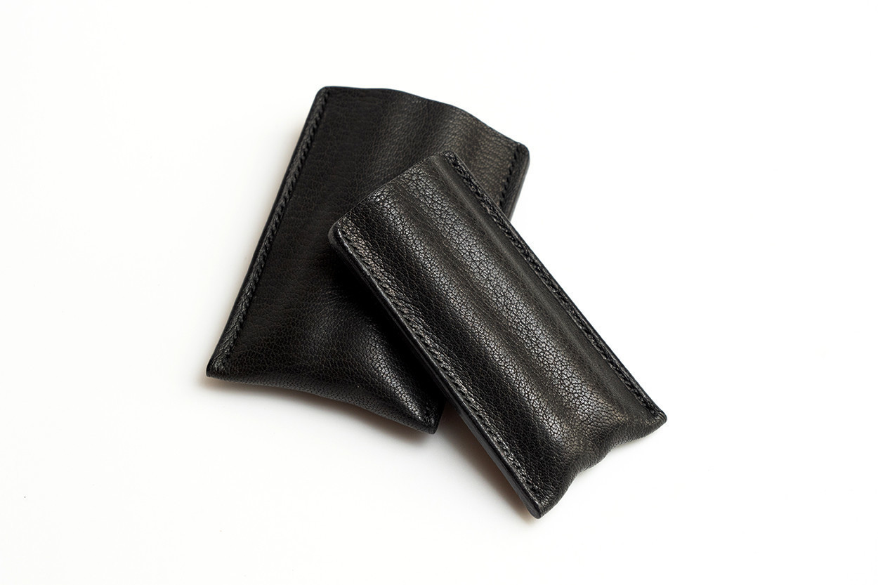 Picture of 1/5 Steer Leather Cigar Case