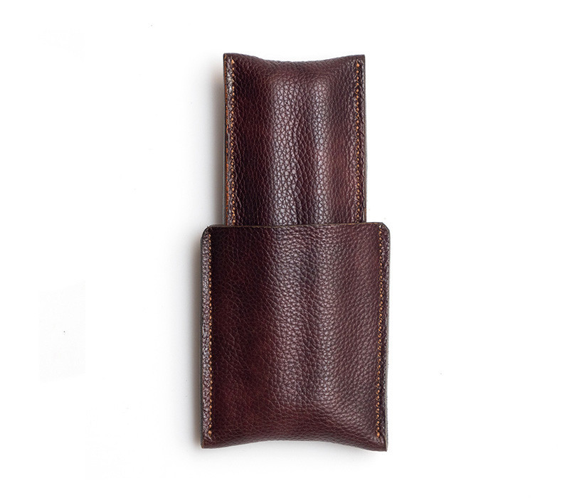 Picture of 1/1 Cigar Case - Milled Brown