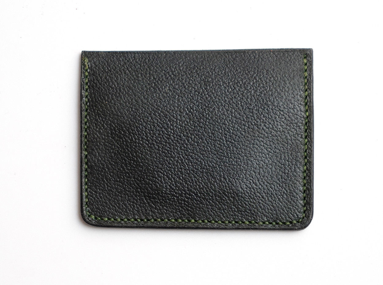 Picture of Green credit card wallet 1/1