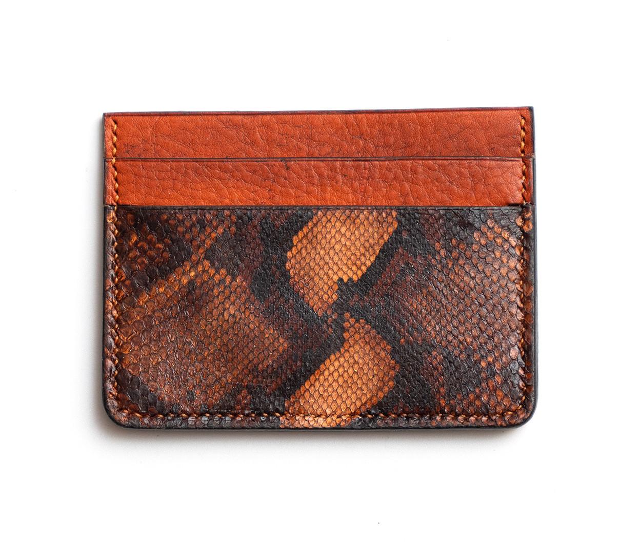 Picture of Orange credit card wallet 1/1